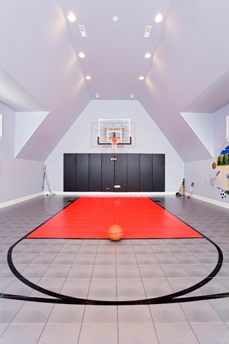What does your dream court look like for How much does a basketball court cost