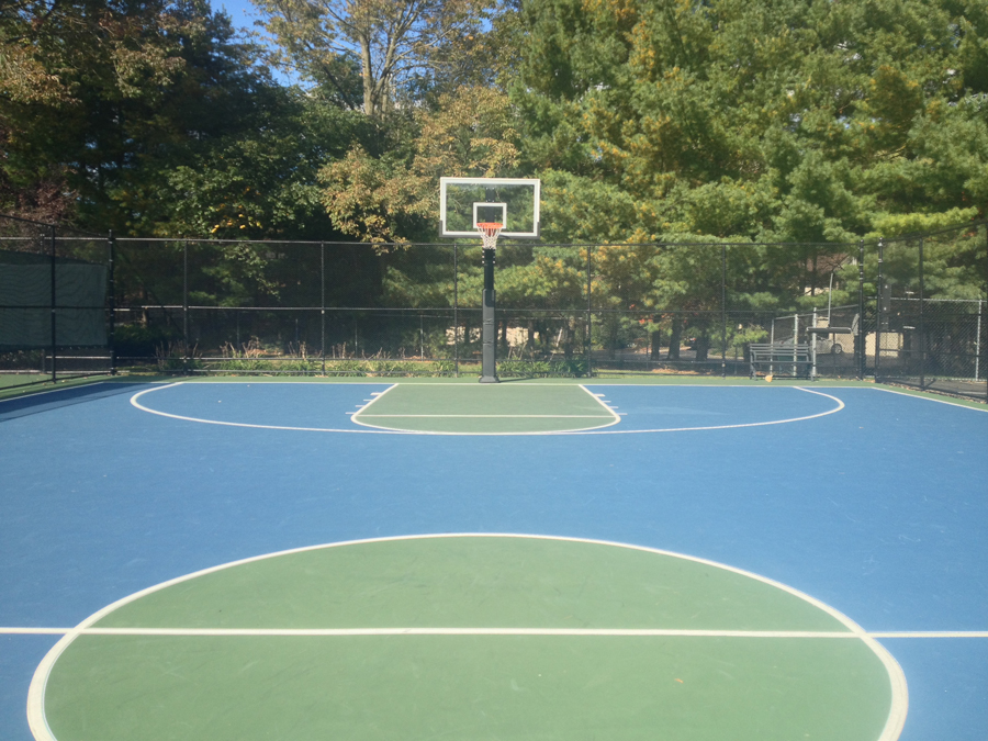 Hercules diamond basketball system for How many square feet is a basketball court