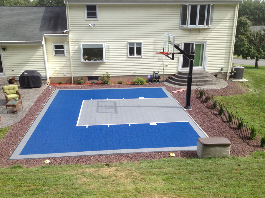 Hercules Platinum Basketball System - Backyard basketball court ideas