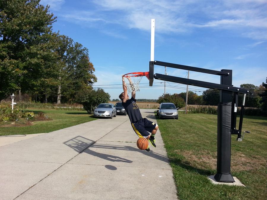 Pro Dunk Platinum Basketball System