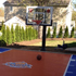 Backyard court knicks