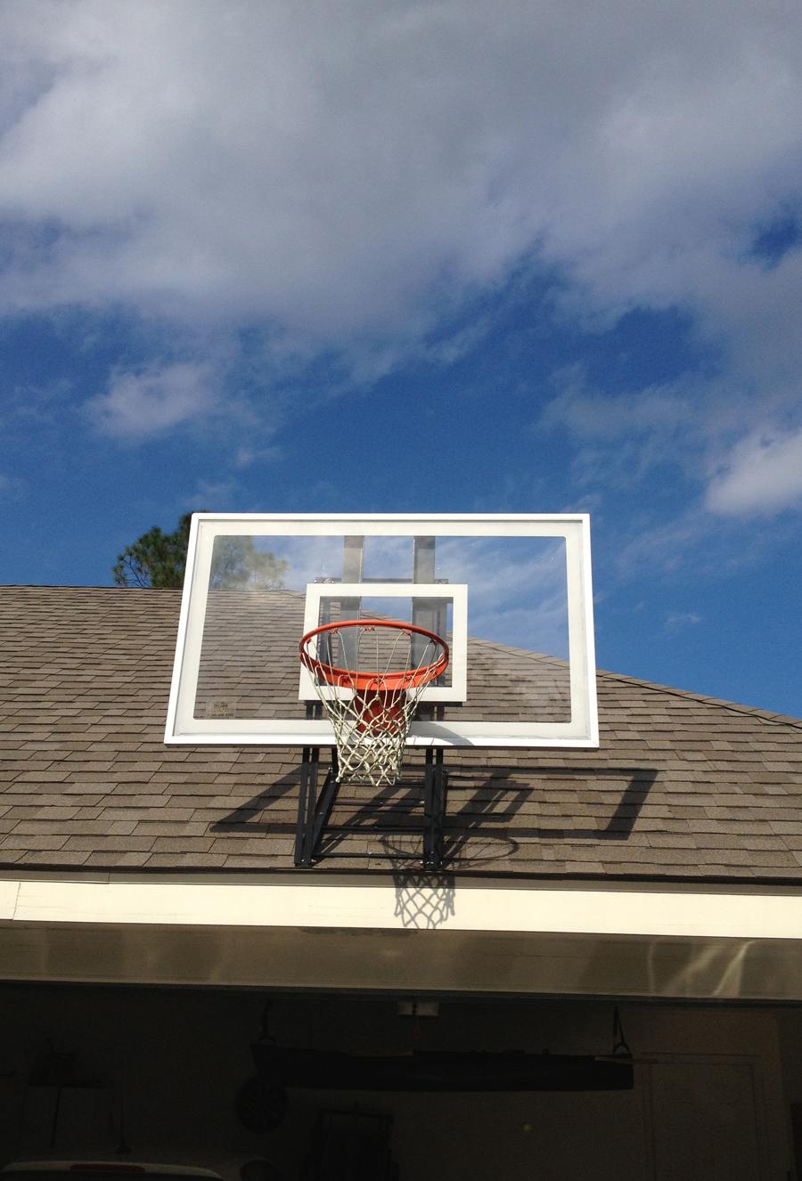 Roof King Platinum Basketball System