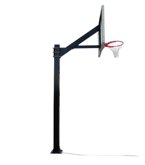 Top View On Basketball Hoop 3d Render Stock Illustration