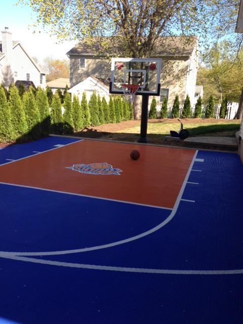 Backyard Court Knicks