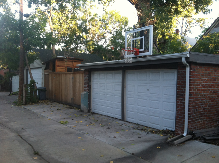 Roof King Gold Basketball System
